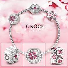 Surround yourself with people who love you. Always, send pink charms to celebrate every tiny victory! #gnoce #gnocejewelry #charms #bracelets #pink #princess #crown #love #fashion #follow4follow #custom #personalized #photocharm #girl #like