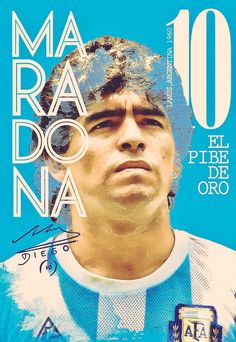 Diego Maradona of Argentina wallpaper. Arsenal Football Team, Football Ads, World Football, Football Images, Good Soccer Players, Football Players, Maradona Tattoo, Adidas Soccer Shoes, Argentina Football