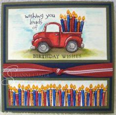 Loads of Love Birthday Card