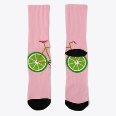 Lime bike socks! a terrific gift for you and your friends!!!