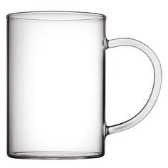 Glass Mug 50 cl  | Granit.com