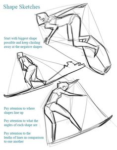 Surfing poses