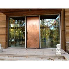 Add the brilliance of Real Metals to virtually any door. http://www.frigodesign.com/design-build/metal-door-panels.html