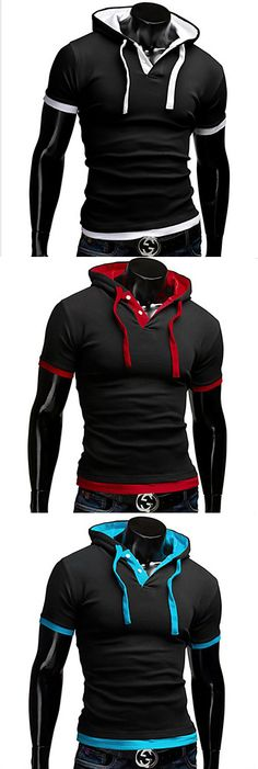 Cool casual sporty T-shirt for men. Check out the colors we have.