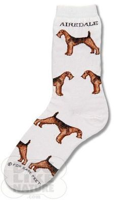 Airdale Poses Socks For Bare Feet. $8.39