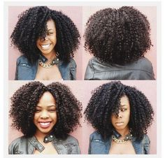 Crotchet Braids Using Bohemian Curl Hair - http://www.blackhairinformation.com/community/hairstyle-gallery/braids-twists/crotchet-braids-using-bohemian-curl-hair/