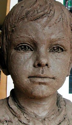 Sculpture Head, Human Sculpture, Pottery Sculpture, Clay Sculptures, Ceramic Sculpture Figurative, Art Folder, Terracota, Greek Art, Art Original