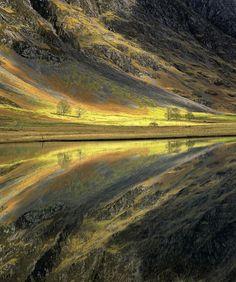 Loch Achtriochtan, Glencoe, Schotland