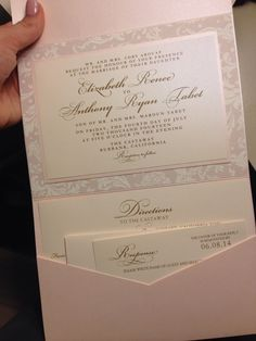 Blush wedding invitations #elegant #blush #formal by celebrate florals @myra1210