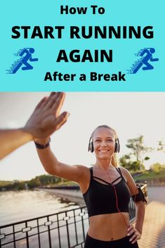Did you take a break from running, and need to know how to start back up again? Find out the exact steps to take to get back to running! 5k Training Plan, Race Training, Half Marathon Training, Running Drills, Running Workouts, Running Tips, Learn To Run, How To Start Running, How To Run Faster