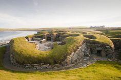 Skara Brae neolithic village, Orkney Islands ,Scotland