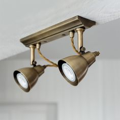 2 #Spot #Light #Strip is new to our range. In our #beautiful #Antiqued #Brass