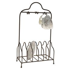Crockery Stand in Cast Iron Home Board, Kitchen Stand, Home Kitchens, Crockery, Country Kitchen, Country Style Kitchen, Country Kitchen Accessories, Wrought Iron, Wardrobe Rack