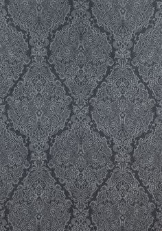 STERLING PAISLEY, Charcoal, AW73027, Collection Meridian from Anna French