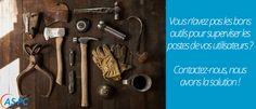 Vous n'avez pas les bons outils pour superviser les postes de vos utilisateurs ?  #SolutionASPC