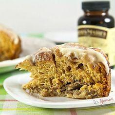 Slow Cooker Cinnamon Roll Casserole recipe {#vanillaweek}
