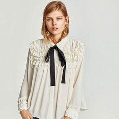 Image result for claudia winkleman zara blouse