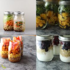 4 awesome ways to use mason jars for meal prep- my favorite meal prep container! Cheap, durable, and environmentally friendly. #mealprep #masonjar
