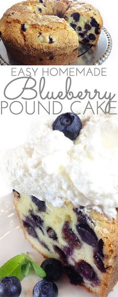 Main Dishes If you're a blueberr Food & Recipes If you're a blueberry lover this delicious Blueberry Pound Cake is for you. It's a moist dense buttery pound cake packed with plump juicy blueberries. Blueberry Pound Cake, Blueberry Desserts, Baking Recipes, Dessert Recipes, Homemade Desserts, Bon Dessert, Appetizer Dessert, Pound Cake Recipes, Pound Cakes