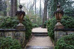 thegoodgarden.com - entrance to Philip Trammell Shutze's Georgia garden
