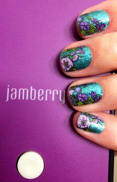 Dancing Lilacs over Jaded