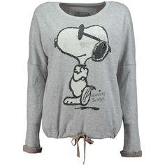 """PRINCESS GOES HOLLYWOOD Sweatshirt mit Snoopy-Motiv ► Das Sweatshirt von PRINCESS GOES HOLLYWOOD besticht durch seinen lässigen Schnitt und ein raffiniertes Tunnelzugband am Bund. Als Frontmotiv brilliert """"Snoopy"""" mit Paillettenbesatz und wird so zum """"Must-Have"""" für alle Mode-Prinzessinnen."""