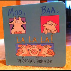 Alyssa LOVES this BOOK.  She has been finishing the rhyming sentences for months now!
