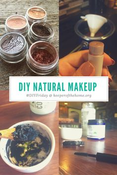 Not so long ago, I discovered that you can make your own natural makeup at home…