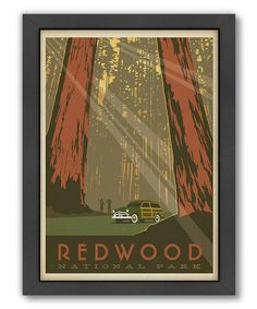 I really hope to stand here in 2014. :: 'Redwood National Park' Print