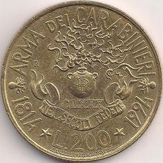 Wertseite: Münze-Europa-Südeuropa-Italien-Lira-200.00-1994