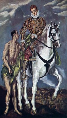 """Blessed and happy memorial of St Martin of Tours """"The Spiritual Bridge of Europe"""" – Nobember 11 #pinterest #tmartinoftours A conscientious objector who wanted to be a monk; a monk who was maneuvered into being a bishop; a bishop who fought paganism as well as pleaded for mercy to heretics—such was Martin of Tours, one of the most popular of saints and one of the first not to be martyred. After great difficulties, he was discharged........"""
