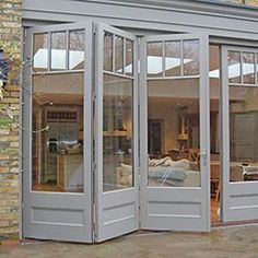 Garden doors by city & country Bespoke roof lanterns Standard size .Garden doors by city & country Bespoke roof lanterns Standard size roof lanterns - furnishing and livingBrilliant French doors with side windows to open Casa Patio, Patio Decks, Patio Roof, Roof Lantern, Garden Doors, House Extensions, French Country Style, Modern Country, Country Decor