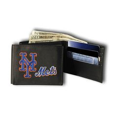 New York Mets Embroidered Billfold Wallet