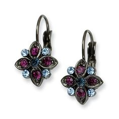 Black-Plated Purple, Light & Dark Blue Crystal Leverback Earrings 1928 Jewelry,http://www.amazon.com/dp/B007AM8K6W/ref=cm_sw_r_pi_dp_EPixsb09AJMQWBK7
