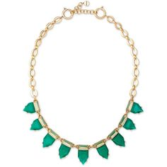 Eye Candy Necklace Emerald (£69) ❤ liked on Polyvore featuring jewelry, necklaces, stella & dot, bib statement necklace, emerald green necklace, stella dot jewellery, stella dot necklace and emerald jewellery
