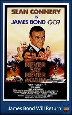 James Bond Will Return - Never Say Never Again