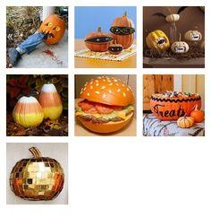 Favorite Pumpkin Decorating Ideas