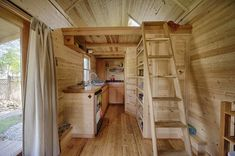 Sweet Pea Tiny House Kitchen and Loft