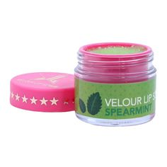 Jeffree Star Cosmetics Spearmint Lip Scrub ($22) ❤ liked on Polyvore featuring beauty products, skincare, lip care, lip treatments and lip treatment
