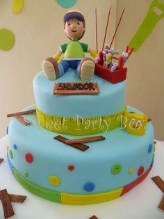 Sweet Party Box: CuMplE de SalvAdoR: Manny a la Obra (Handy Manny Party)