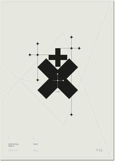 Poster by Norwegian graphic designer Margaretha Andreassen