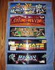 Lot of 25 Vintage Original Arcade Game Marquees - ARCADE, Game, Marquees, ORIGINAL, Vintage