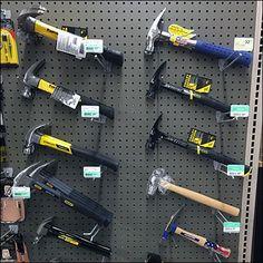 Hammer Assortment Twin Peg Hooked – Fixtures Close Up Showroom Design, Home Gadgets, Shop Interiors, Store Design, Twins, Barn, Hardware, Gardening, Business