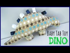 {Step-by-Step Sewing} DIY Baby Tab Toy Dino - YouTube The links to the template have been removed so, perhaps you could screen shot the template and adjust.