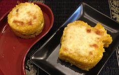Myeu appunti vegetariani: 1 Tortino di riso con zucca pecorino prezzemolo