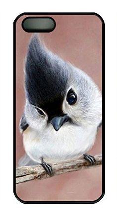 Personalized iPhone 5S Pc Black Custom Hard Case Baby Parrot iPhone 5S cases http://www.amazon.com/gp/product/B00M6O4YI2