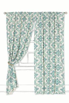 Tawi Curtain - Anthropologie.com