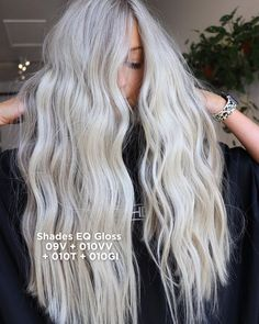 Beach Hair, Professional Hairstyles, Cosmetology, Shades, Long Hair Styles, Blondes, Ice, Community, Beauty