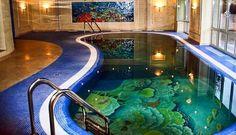 3D epoxy floor coating for pools