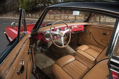This 1953 Ferrari 212 Inter Coupe by Vignale has an estimated price of $1,800,000 to $2,200,000